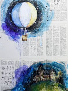 """Saatchi Art Artist Sara Riches; Painting, """"Dreamer"""""""