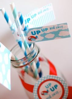 Airplane 2nd Birthday Party - Kara's Party Ideas - The Place for All Things Party