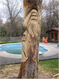 Wood Tree Spirit | 123_2349_1_350.jpg (350×466) | Wood ~ Tree Spirit Carvings