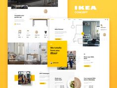 IKEA Online Concept - Homepage
