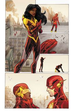 The Flash & Iris