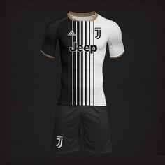 Juventus FC football home kit. Football Uniforms, Sports Uniforms, Football Jerseys, Sports Shirts, Sport Shirt Design, Sports Jersey Design, Football Design, Juventus Soccer, Juventus Fc