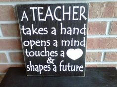 I will never forget the teachers who changed the course of my whole life. They are the most miraculous people.
