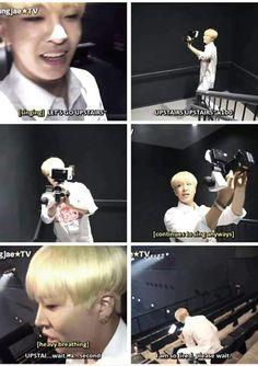 stop being so adorable (via : Youngjae★TV)