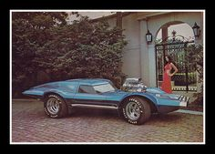"""""""Star Trek Coupe"""" Show Car, 1975 by Cosmo Lutz, via Flickr"""