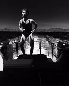 'Oucheeze': Adrift's Sam Claflin dons Shailene Woodley's swimsuit Mens Leotard, Miles Teller, Sam Claflin, Shailene Woodley, Man Photo, Swimsuits, Swimwear, Leotards, Tap Shoes