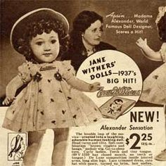 Jane Withers Doll (1937)