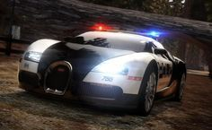 NFS Bugatti Veyron Police Car - Other Wallpaper ID 1337143 - Desktop Nexus Video Games