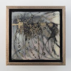 Excited to share the latest addition to my #etsy shop: REGENERATION No. 14 | Original Encaustic Mixed Media Painting by Katie C. Gutierrez https://etsy.me/2KxnxEE #art #painting #gold #black #encaustic #watercolor #wax #ink #bronze