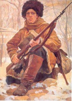 Rudolf Rudolfovich Frentz - Russian Soldier, 1900-10's