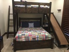 We make and deliver custom bunk beds