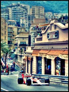 Senna Monaco F1