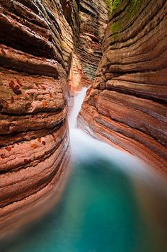 Tauglbach, Salzburg, Østerrike – The Red Canyon: I Like The Red Canyon. Visit Austria, Austria Travel, Finland Travel, Vienna Austria, Places Around The World, Travel Around The World, Around The Worlds, Places To Travel, Places To See