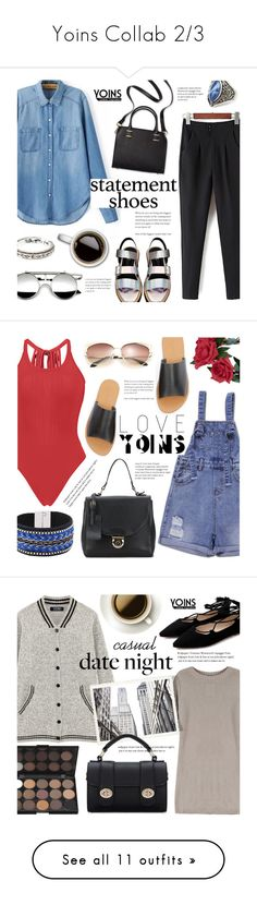"""""""Yoins Collab 2/3"""" by alexandrazeres ❤ liked on Polyvore featuring yoins, yoinscollection, loveyoins, Humble Chic, Eugenia Kim, Topshop, Witchery, Ray-Ban, Clinique and Converse"""