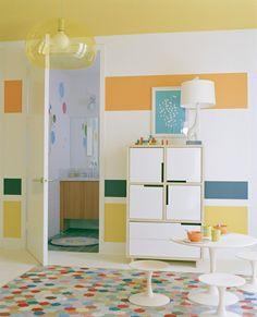 Kinderzimmer Wandgestaltung Ideen Kreative Wandgestaltung
