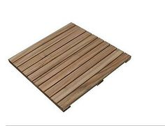 A solid wood floordeck which can be to cover large areas around swimming pools, party tents, on terraces and balconies, or other outdoor areas.RRG is a very hard wood and one of the most durable of all Eucalyptus species with an outdoor life length similar to Teak. The wood has a warm reddish colour.Size:W 500mmL 500mm H 24mm4 pcs/m2