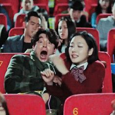 Goong yoo as goblin in goblin seeing goong yoo in train to busan ! Jun Ji Hyun, Korean Drama Movies, Korean Actors, Lee Dong Wook, Goblin The Lonely And Great God, Goblin Korean Drama, Goblin Gong Yoo, Korean Tv Shows, Yoo Gong