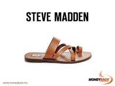 MONEYBACK MEXICO. Criss-crossed leather straps and a toe ring come together to form the upper of the gladiator-inspired Ambler flat slide sandal. Wear with a tee and a pair of ripped boyfriend jeans for an easy get-up-and-go look. Shop STEVE MADDEN in your next trip to Mexico and get a Moneyback tax refund for foreigners! #moneyback www.moneyback.mx