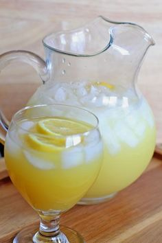 Sparkling Summer Lemonade.  This is NOT your ordinary lemonade.  Welcome summer!