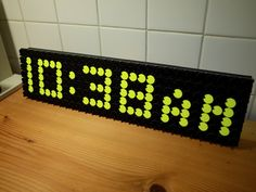 Read Flip Dot Clock via Arduino Project Hub   An interesting link found among my daily reading