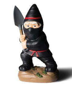 Look at this #zulilyfind! 9'' Ninja Gnome Figurine by BigMouth Inc. #zulilyfinds