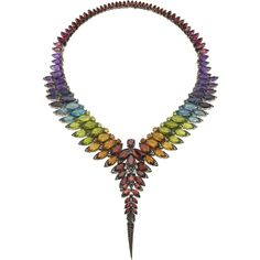 Feathers Collar from Magnipheasant collection by Stephen Webster