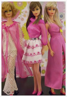 Vintage Barbies - Mod Era Twist n' Turn Barbies and Stacey
