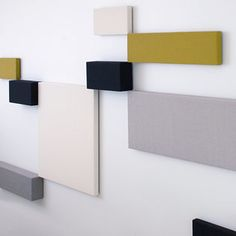 Whisper Acoustic wall panels designed by Tapio Anttila - via Suite New York