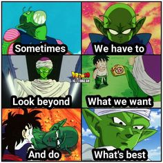 Born to be evil lived to be good! Team piccolo for sure!  A dbz.go Original  please give credit if reposted thanks Follow: @dbz.go for more hot content! stay saiyan!  Your Opinion Is Important: Leave A Comment