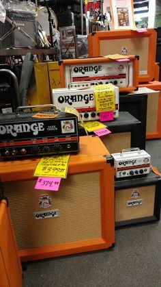 $25 off Orange combos & cabs, $40 off Orange heads, $100 off Orange head/cab packages!