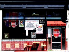 The Highbury Pub by crazyBobcat, via Flickr.  A friendly place in Milwaukee's Bay View neighborhood.  Great place to watch soccer and make friends.