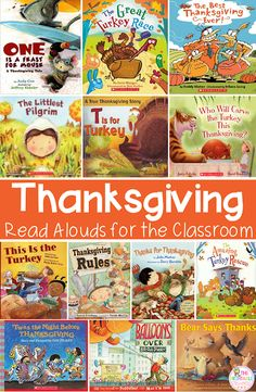 Your Kindergarten classroom and homeschool students are going to love the Thanksgiving read alouds, easy DIY crafts, and no prep activities included at this blog post! You'll see 13 great book ideas, an easy turkey craft project, a FREE Thanksgiving place mat download perfect for Thanksgiving day, and no prep printables that help cover CVC words, beginning - middle - end sounds, alphabet recognition, numbers to five and ten, and more for your math or literacy centers, morning work,