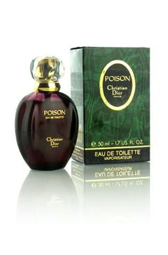 Christian Dior Poison Perfume... I used to wear this in my 20's beautiful evening fragrance.