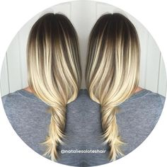 Image result for blonde root melt