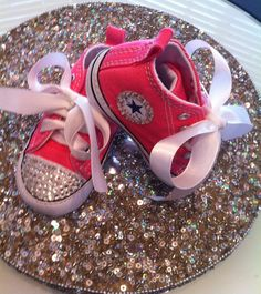 Baby Converse on Etsy, $45.00