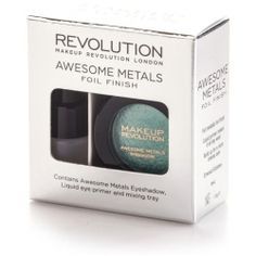 Makeup Revolution Awesome Metals Eye Foils Emerald Goddess