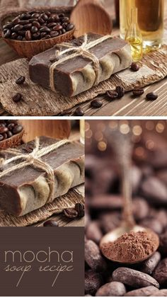 Mocha Soap Recipe | Click Pic for 24 DIY Christmas Gift Ideas on a Budget | Last Minute Christmas Gift Ideas for Family