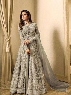 anarkali dress long gown,anarkali salwar suits for wedding,indian party wear for women anarkali Abaya Fashion, Indian Fashion, Fashion Dresses, High Fashion, Punk Fashion, Indian Gowns Dresses, Pakistani Dresses, Indian Anarkali, Pakistani Suits