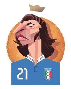 Andrea Pirlo Copa de 206. - Daniel Nyari.