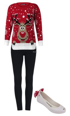 """""""CHRISTMAS READY IN MINNIE MOUSE ULTRAGIRL!! LETS GO!"""" by nonnon-co-uk ❤ liked on Polyvore featuring Melissa, women's clothing, women's fashion, women, female, woman, misses and juniors"""