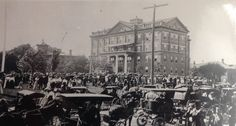 Akron City Hospital dedication - 1904