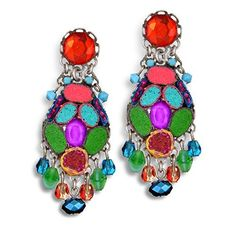 Ayala Bar Razzmatazz Earrings, Hip, Spring 2015 - E7373  Price : $105.00 http://www.artazia.com/Ayala-Bar-Razzmatazz-Earrings-Spring/dp/B00U6CY5XA
