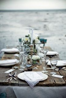 Love the rustic glam look #pensacolabeachbridalbliss