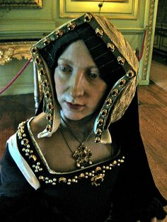 Catherine of Aragon, First Wife of Henry VIII, Waxwork at Warwick Castle