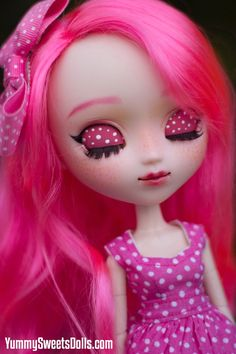 OOAK Pink Bubblegum Full Custom Pullip by YummySweetsDolls on Etsy