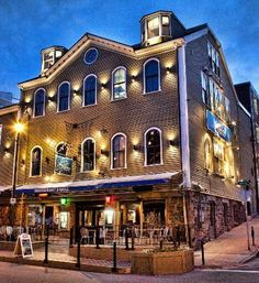 The Five Fisherman Restaurant Halifax Nova Scotia- !n 1912 this was a hospital that the victims of the sinking of Titanic were brought to.