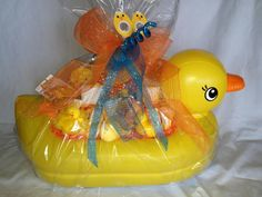 Rubber Ducky Themed Baby Gift Idea