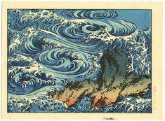 Las pinturas del mundo flotante por Hokusai