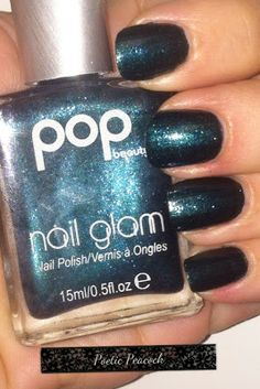 Pop Beauty nail polish in Poetic Peacock #nails