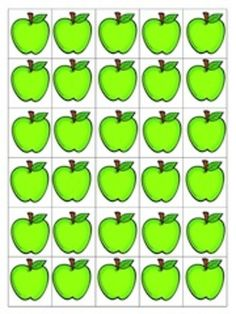 This freebie consists of 10 apple tree counting mats and apple in 3 colors to use to practice counting with one to one correspondence. I hope you enjoy this FREE math center activity! Preschool Behavior, Classroom Activities, Preschool Activities, Apple Template, College Crafts, Montessori Math, Apple Theme, Kids Education, Math Lessons